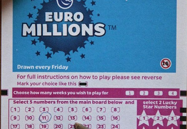 Winning Lottery Numbers For Euromillions Results Including