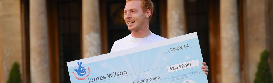 James Wilson Lottery winner