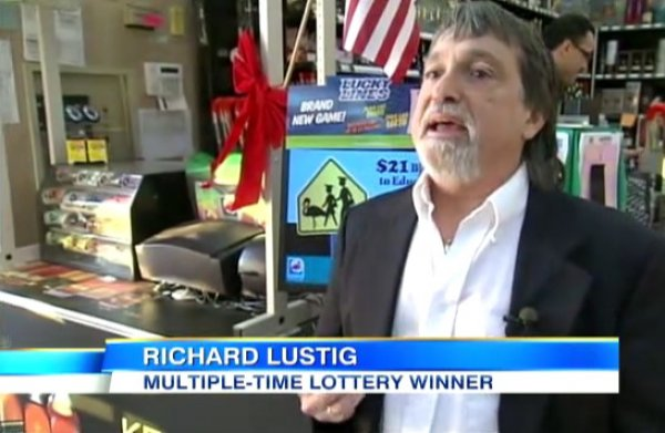 Richard Lustig lottery winner