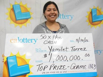 Yamilet Torrez Joan Ginther Lottery Winner