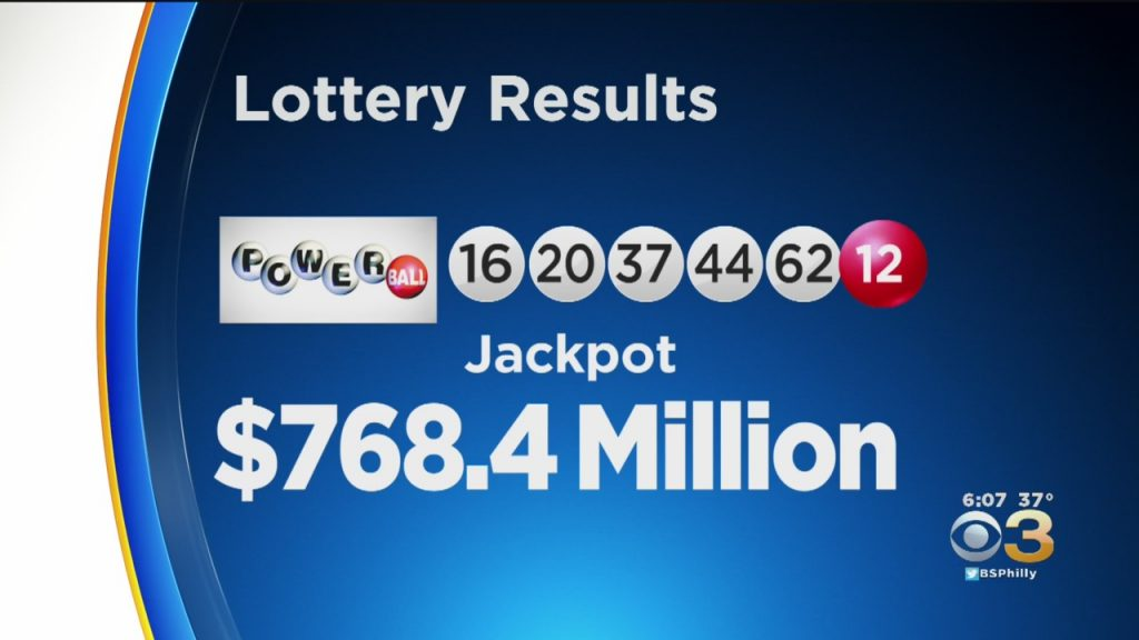 768.4million lottery winner