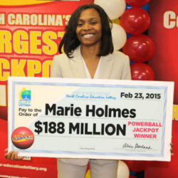 marie-holmes-powerball-winner -How a win a Lottery