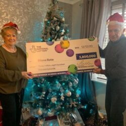 Grandmother on 'cloud nine' with £3.8m Lotto win