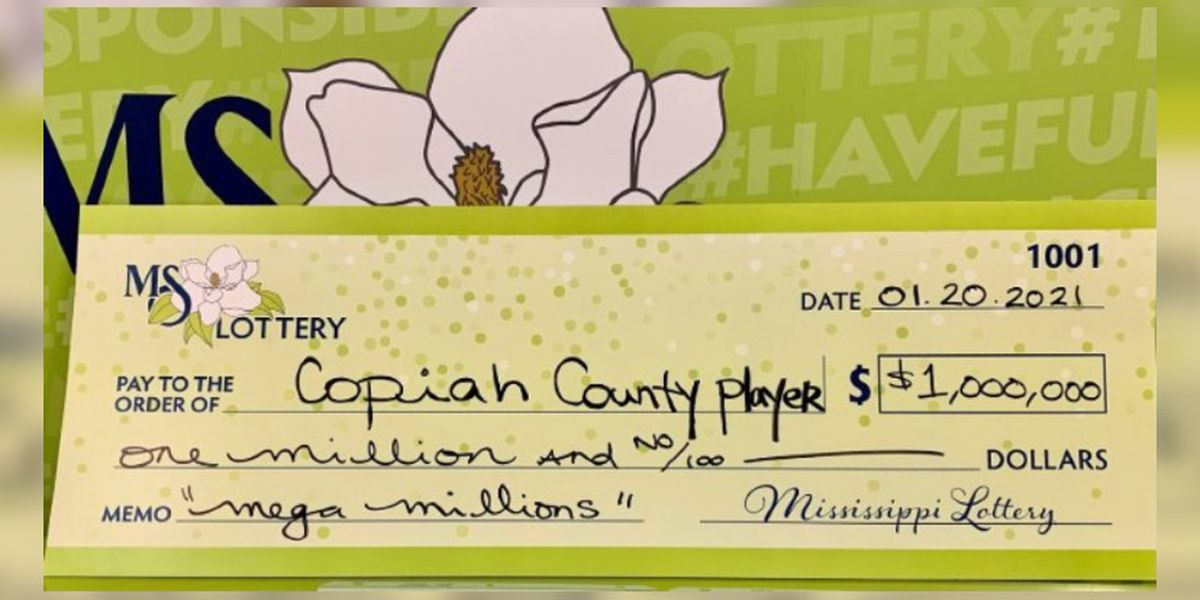 The Copiah Co. player wins $1 million in the Mega Millions jackpot