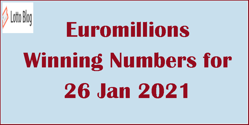 Euromillions Lotto Winning Numbers - Lotto Blog