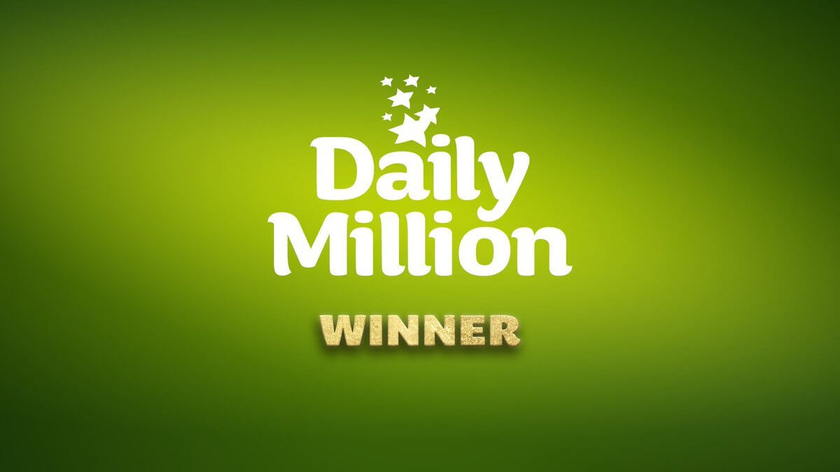 Kerry player gets lucky with €1m daily million prize in the National lottery