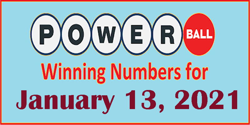 PowerBall Winning Numbers for December 13, 2021