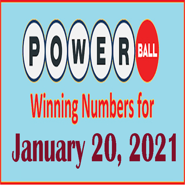 Powerball Jackpot Winning Numbers for $730 millions, 20th Jan, 2021