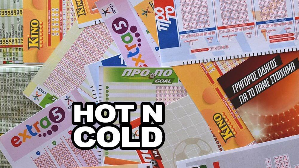 Strategies to win the lottery using Hot & Cold numbers