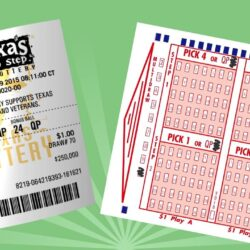 Cash 5 Texas lottery tickets