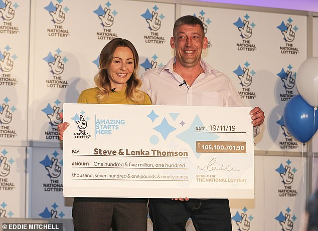 Euromillions lottery worth £105M claimed by a 42 year old builder