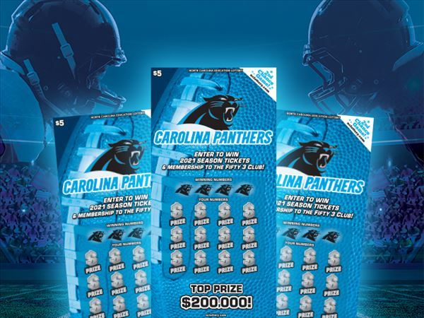 NC grocery store worker wins $200,000 prize from Carolina Panthers scratch-off