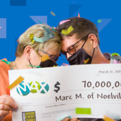 A Canadian couple in shock after $70 million lotto Max jackpot winning