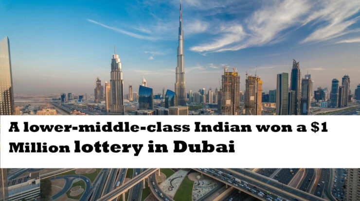 A lower-middle-class Indian won a $1 Million lottery in Dubai